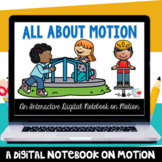 How Things Move Digital Notebook (Distance Learning) (TEKS