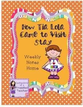 How Tia Lola Came to Stay Weekly Letters (Scott Foresman Reading Street)