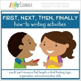 How To: A Sequencing Activity (First, Next, Then, Finally)