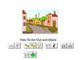 How To Act Out and About Social Story