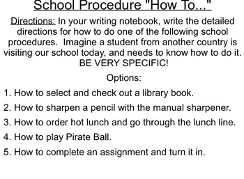 """""""How-To"""" Activities and Demonstration Guidelines"""