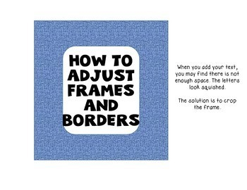 Product Covers Tutorial How To Adjust Frames and Borders Freebie
