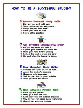Successful Behavior: Poster