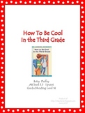 How To Be Cool in the Third Grade - Book Study