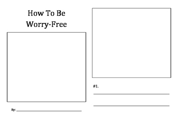 How To Be Worry-Free student booklet
