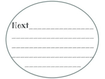 How To Blow Bubbles- Writing Template