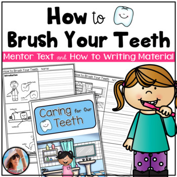 How To Book ~ How to Brush Your Teeth with Writing Activities