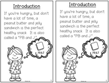 How to Make a Peanut Butter and Jelly Sandwich Procedural Writing