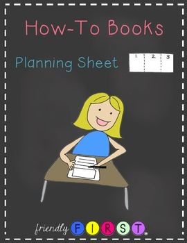 How-To Books Planning Sheet