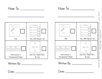 """""""How To"""" Books Writing Paper Using Self- Reflection Checklists"""