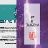 How-To Brainstorm Better