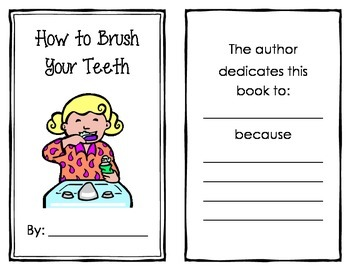 How To Brush Your Teeth Book