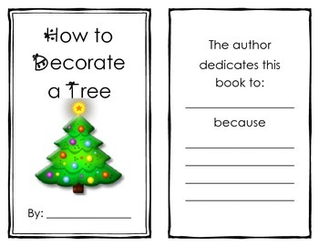 How To Decorate Your Christmas Tree Book