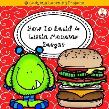 How To Build A Little Monster Burger (A Sight Word Emergen