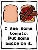 How To Build A Little Monster Sandwich (A Sight Word Emergent Reader)