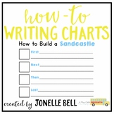 How To Build A Sandcastle Writing Chart