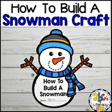 How To Build A Snowman Craft & Writing Activity
