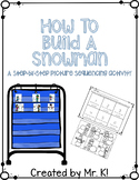 How To Build A Snowman Picture Sequencing
