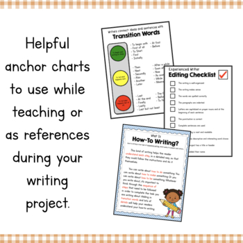 How To Build a Sand Castle Writing and Sequencing Activity