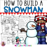 How To Build a Snowman Mini Unit (Craft, Books, Songs, Printables, Pocket Chart)