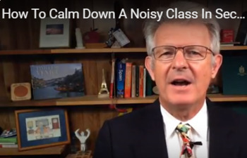 How To Calm Down A Noisy Class In Seconds