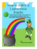 How To Catch A Leprechaun Bundle (with leprechaun trap project)