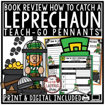 How To Catch A Leprechaun Reading Activity - March Reading Activity