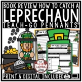 How To Catch A Leprechaun Book Review Template- St. Patrick's Day Reading