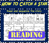 How To Catch A Star Reading: Read and sequence cut and paste activity