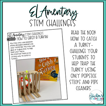 How To Catch A Turkey STEM Challenge