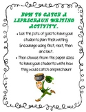 How To Catch a Leprechaun Writing Prompt