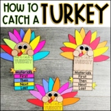 How To Catch a Turkey Writing Template and Craft