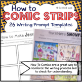 Comic Strip Templates: How To Writing Prompts
