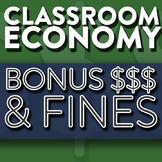 Bonus Money & Fines   How To Create A Classroom Economy Part 3