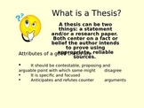 How To Create A Thesis Powerpoint
