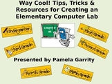 How To Create An Elementary Computer Lab