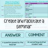 How To Create and Facilitate a Seminar