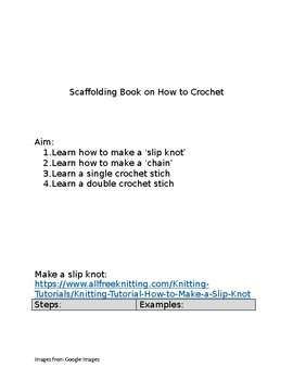 How To Crochet Step by Step...