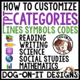 How To Customize TpT Store Categories For TPT Sellers