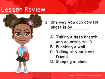 How To Deal With Anger: An Interactive PowerPoint / Whiteboard Lesson