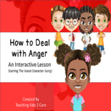 How To Deal With Anger : An Interactive PowerPoint / White