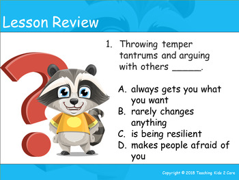 How To Deal With Disappointment - An Interactive PowerPoint / Whiteboard Lesson