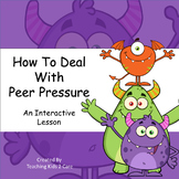 How To Deal With Peer Pressure - Interactive PowerPoint /