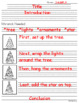 How To Decorate A Tree ~ Writing