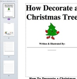 How To Decorate a Christmas Tree Writing/Sequencing Activity