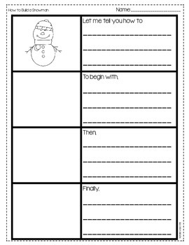 Differentiated Writing Prompts with Graphic Organizers