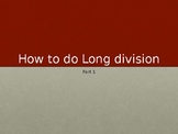 How To Do Long Division Part 1