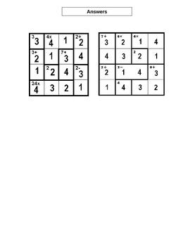 How To Do MathDuko Arithmatic Puzzles