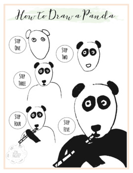 How To Draw A Panda Handout