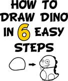 VIPKID How To Draw Dino Reward